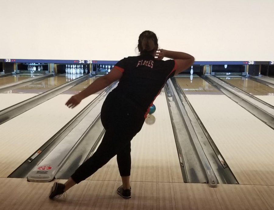 Bowling is up their alley: athletes strike competition