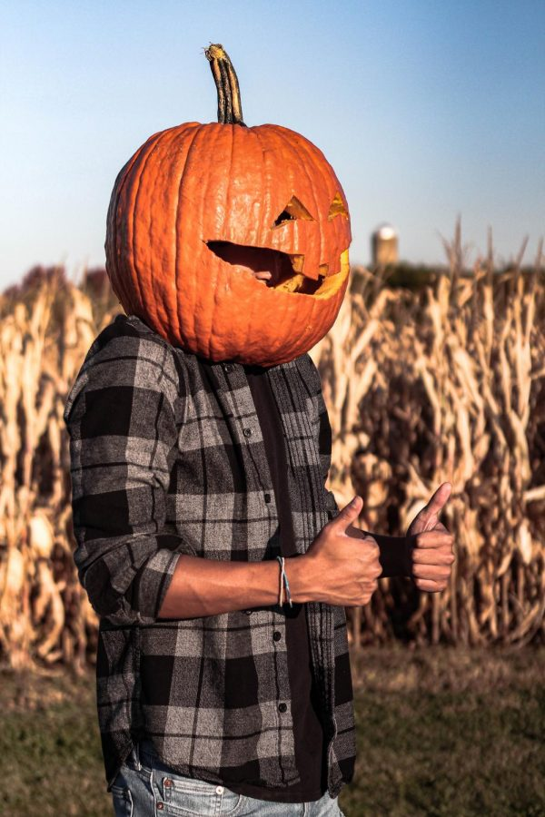 The commonly known Bryce Pose spreads from person to person. With Halloween nearing, the humorous stance now takes a turn for a more terrorizing look. - Adam Jackson