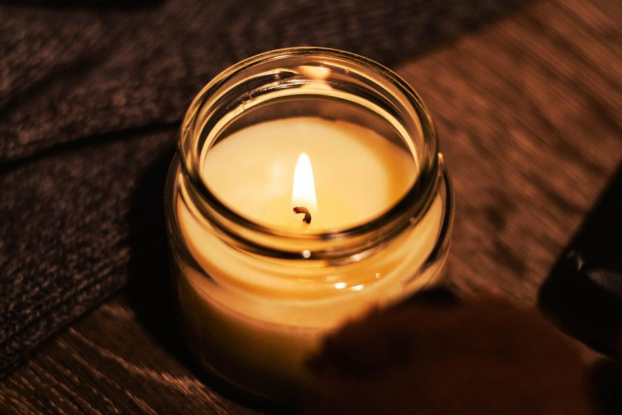 The warm ambience of a candle softens the stressful atmosphere of Covid-19. It flickers in the darkness, while calming the mind. - Adam Jackson